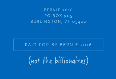 Bernie Sanders don populaire digitalebox