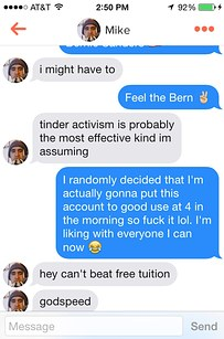 tinder femme supportrices bernie sanders digitalebox