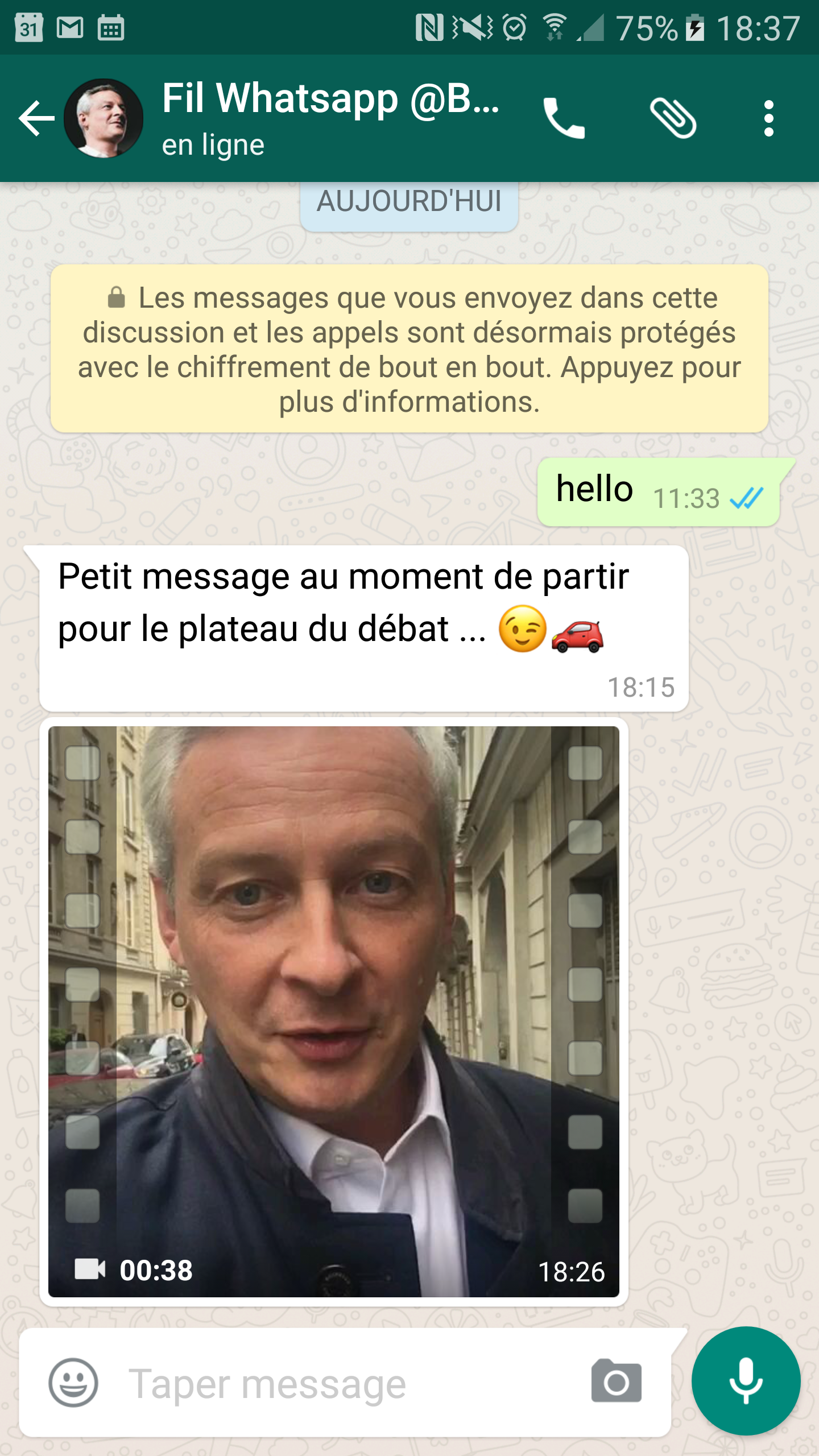 bruno le maire whatsapp digitalebox nationbuilder