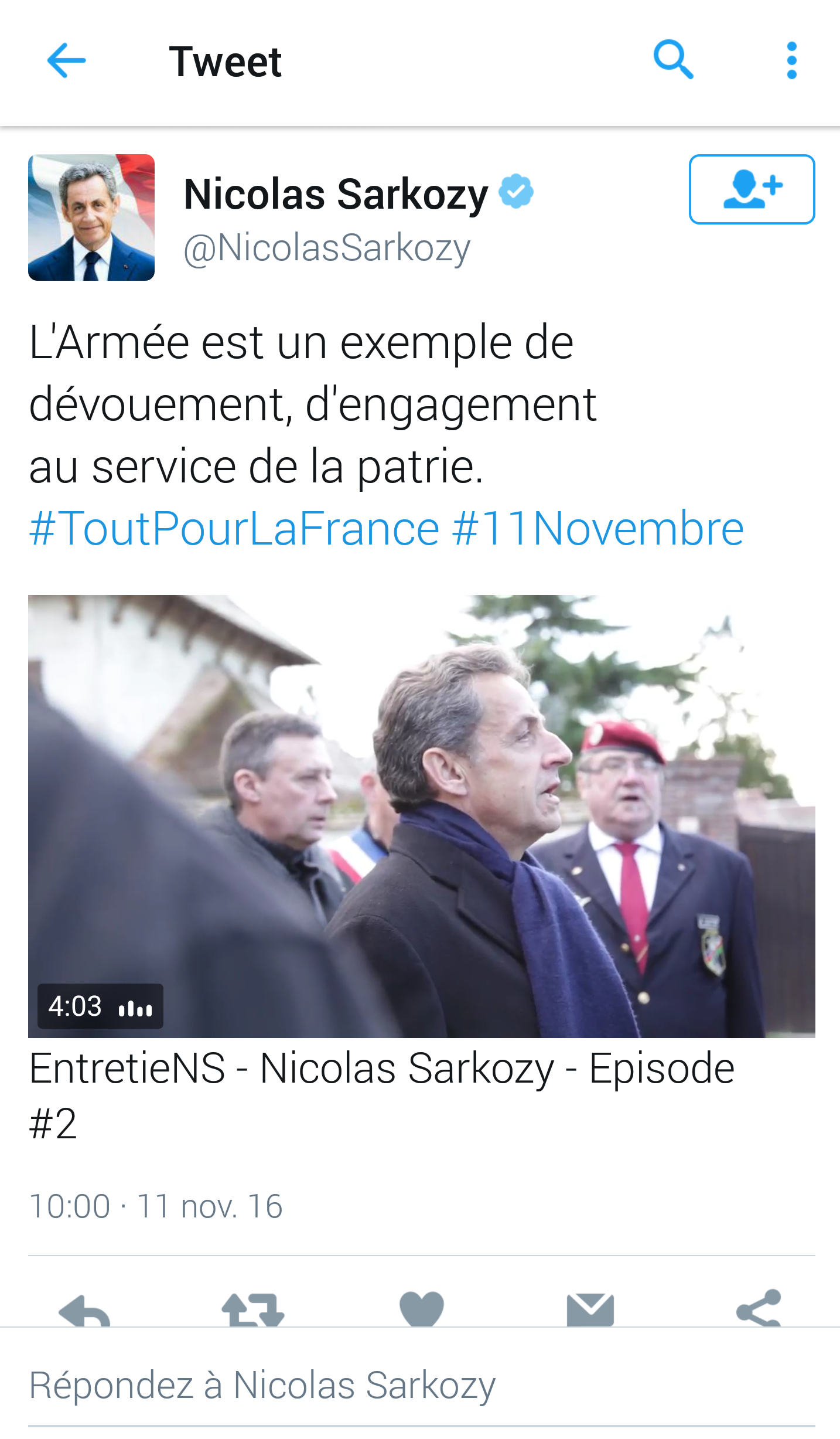 sarkozy twitter video digitalebox